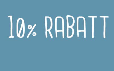 10% Rabatt auf alle Hausschuhe & Hallensportschuhe